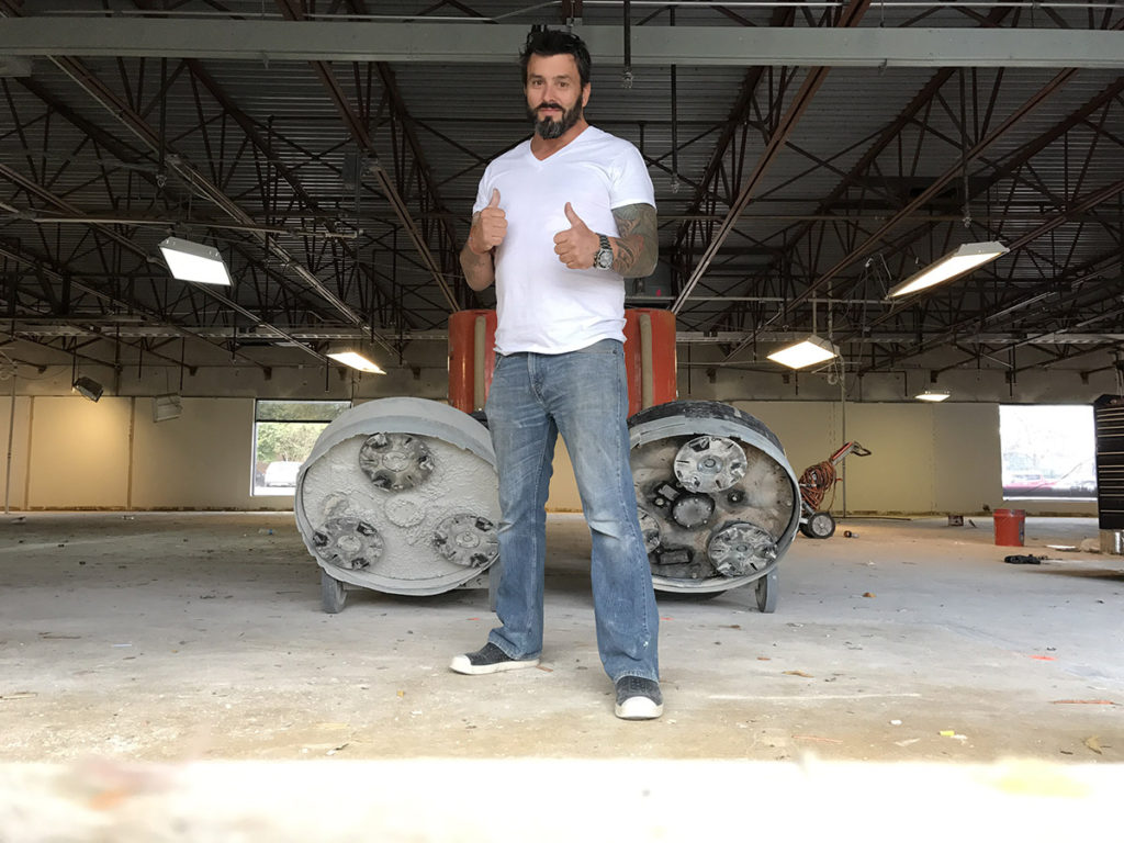 Andy Polished Concrete Floors