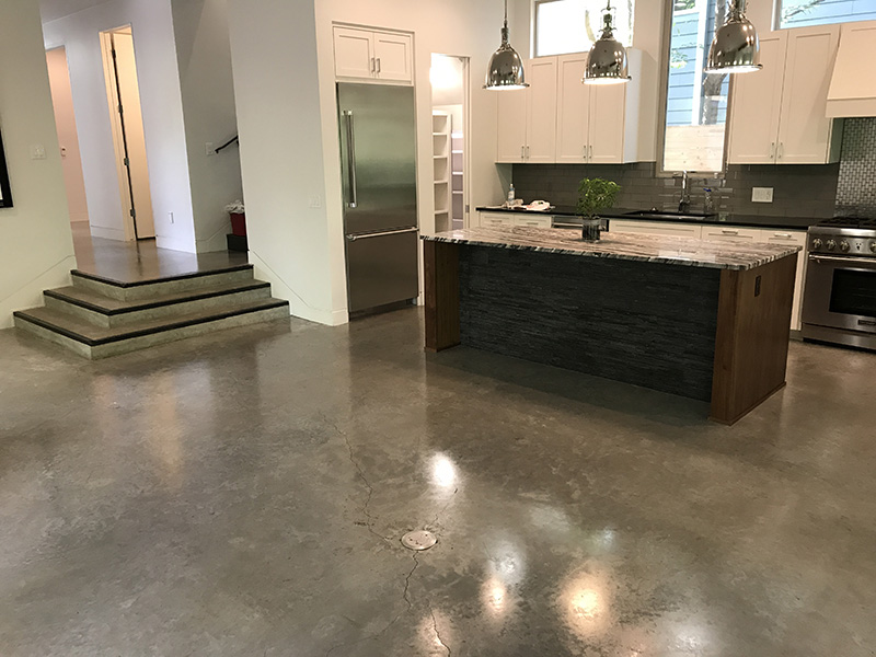 Residentail Concrete Polishing