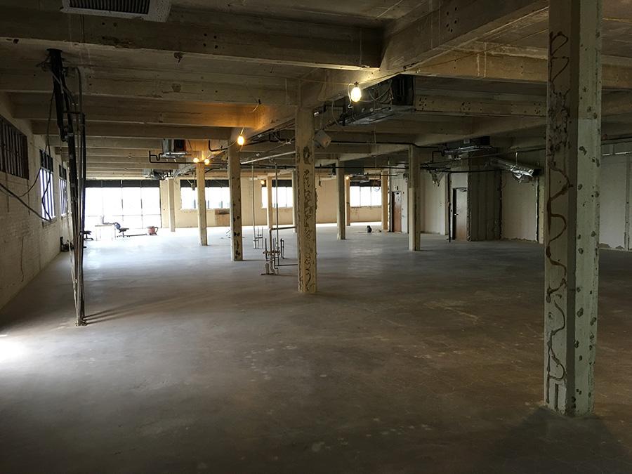 commercial floor demo