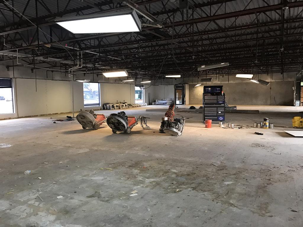 commercial floor prep