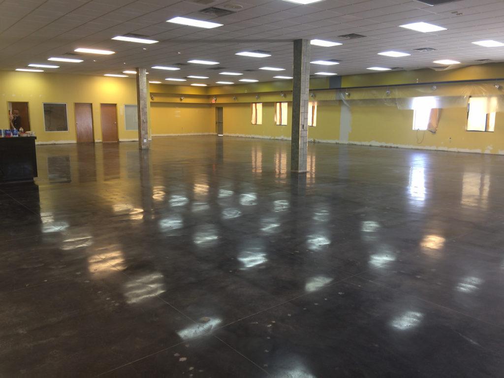 concrete commercial polishing