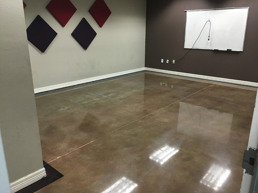 concrete polished fooring for commercial